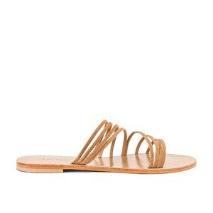 Lightly Worn RAYE Mansfield Sandal in Tan